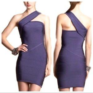 Bebe Royal Purple Bandage Dress!